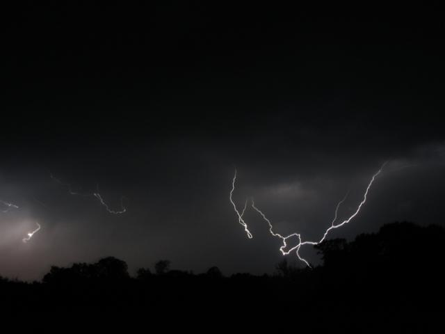 Photo by Robyn Collins in Lavaca-Awesome lightning storm