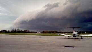 Bentonville airport 9/7/2012