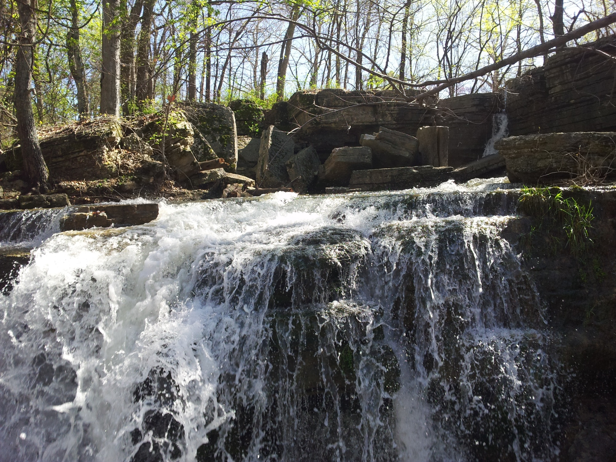 Waterfall at Crystal Lake (Decatur)