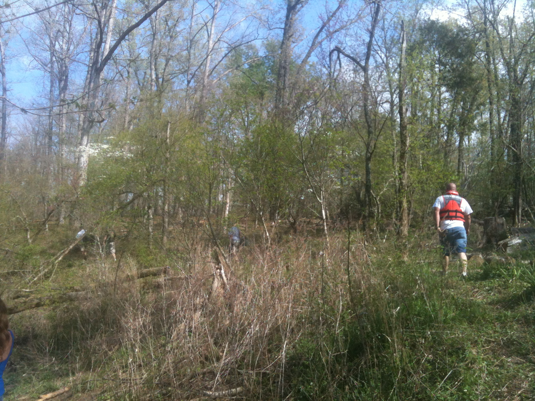 Crews search for Caleb