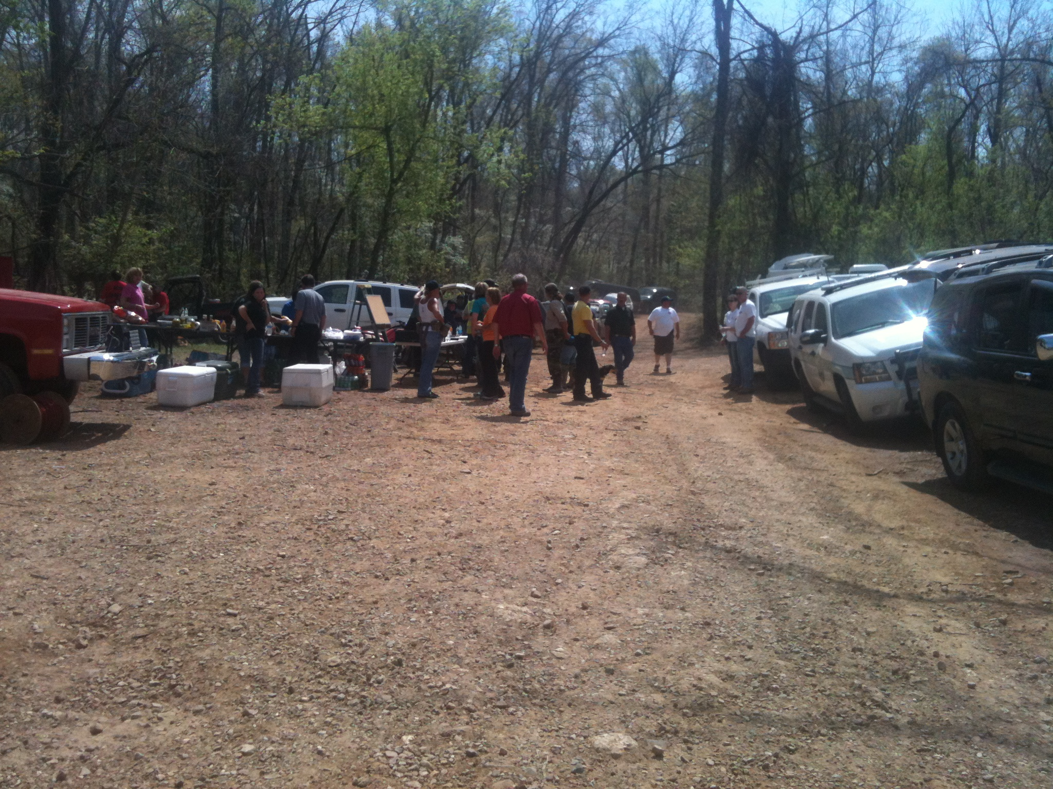More than 100 volunteers search for Caleb