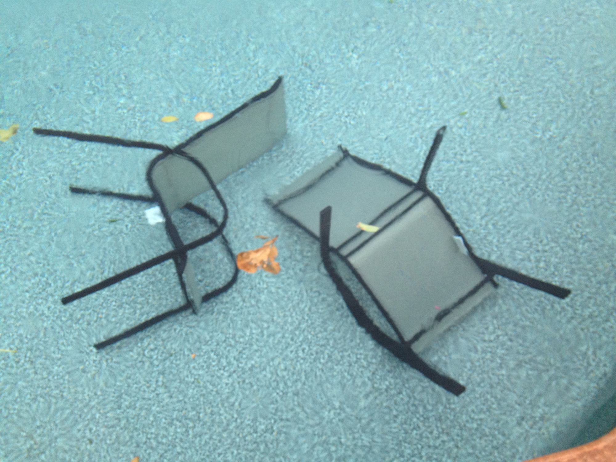 Chairs In The Water