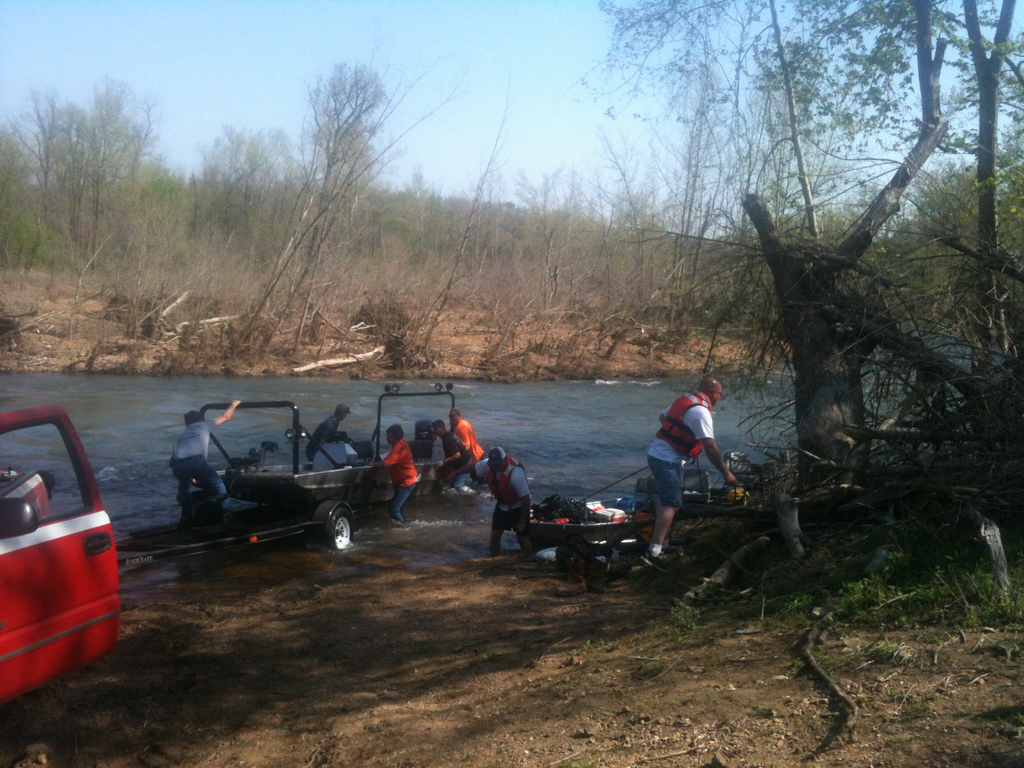 Crews return after boy's body is recovered