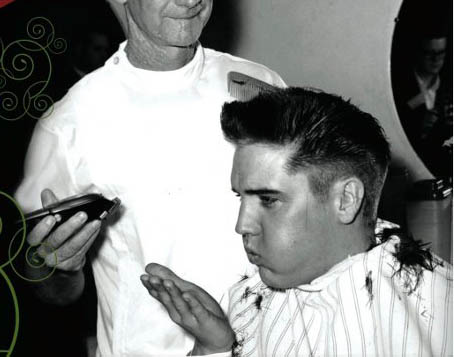 Elvis Getting Haircut The City Wire Get Elvis'