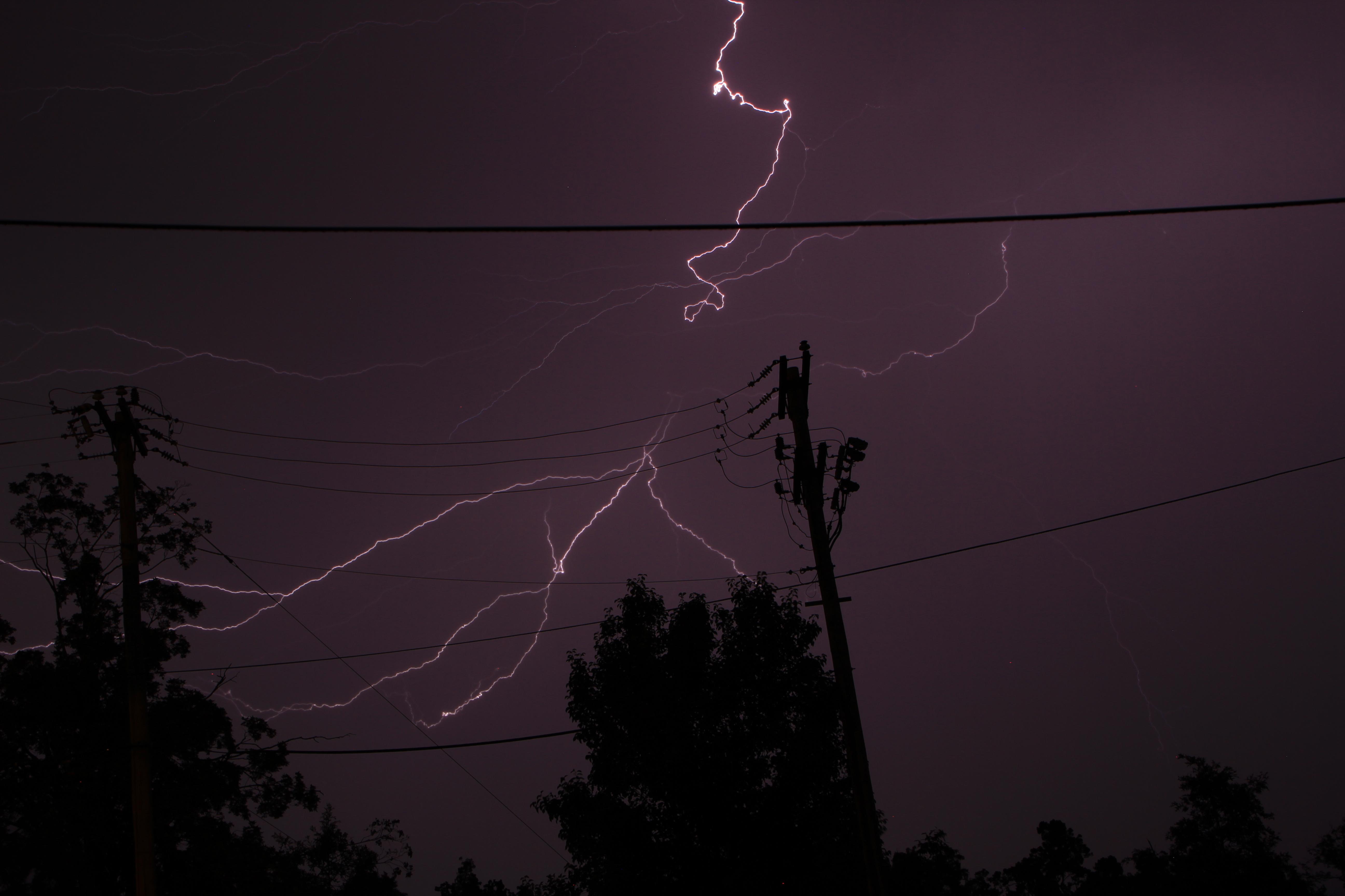 Lightning - Steve Huckriede