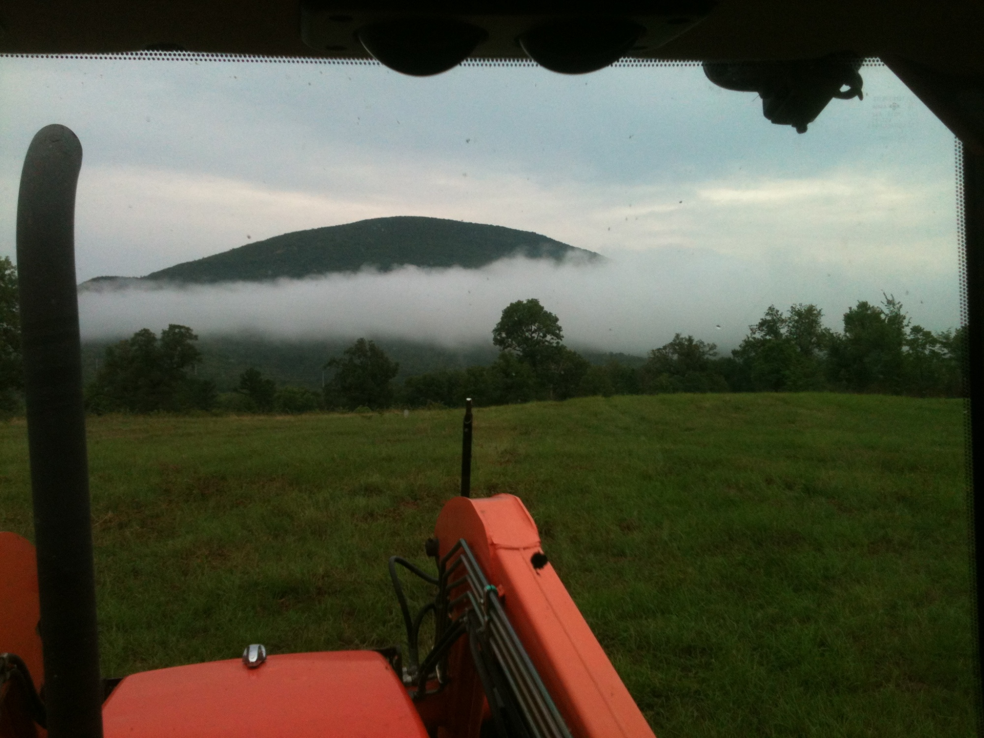 Sugarloaf Mtn near Monroe after a rain on 7/14/12