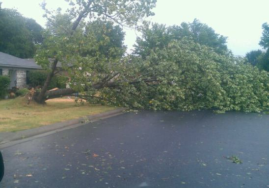 Village Harbor Area East side Fort Smith 7/7/12
