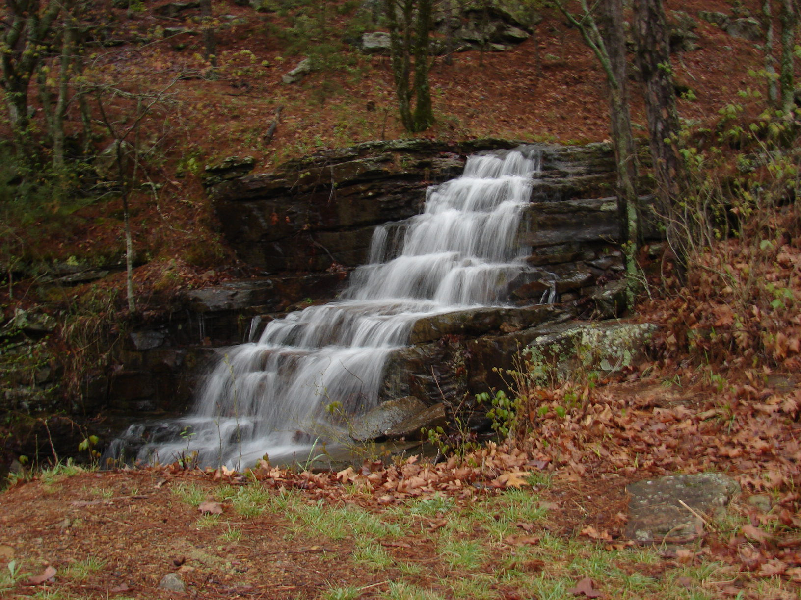 Hardy Falls on the south side of Mount Magaz