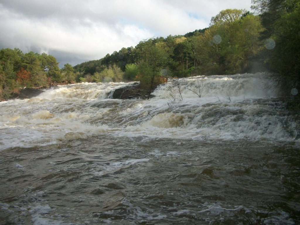 Paris City Lake Spillway - Paris AR