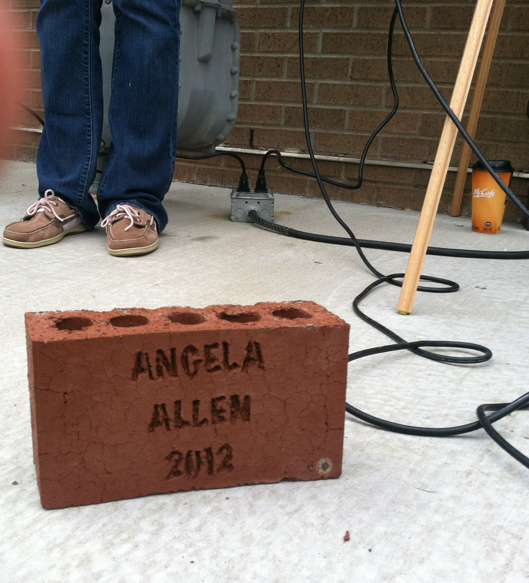 Tree planted in honor of Angela Allen