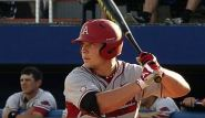 Michael Gunn's 10th inning RBI single put the Razorback in front of Florida for good in a 3-1 win.