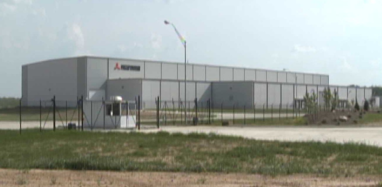 Mitsubishi Plant at Chaffee Crossing