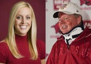 Bobby Petrino's hiring of Jessica Dorrell failed to raise a red flag with his bosses.