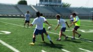 The Springdale High soccer team preps for Friday's 7-A West finale against Fayetteville.