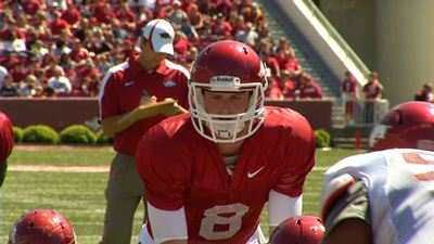 Tyler Wilson is poised to have a special season in 2012 thanks in part to the head coach who developed him into an All-SEC quarterback.