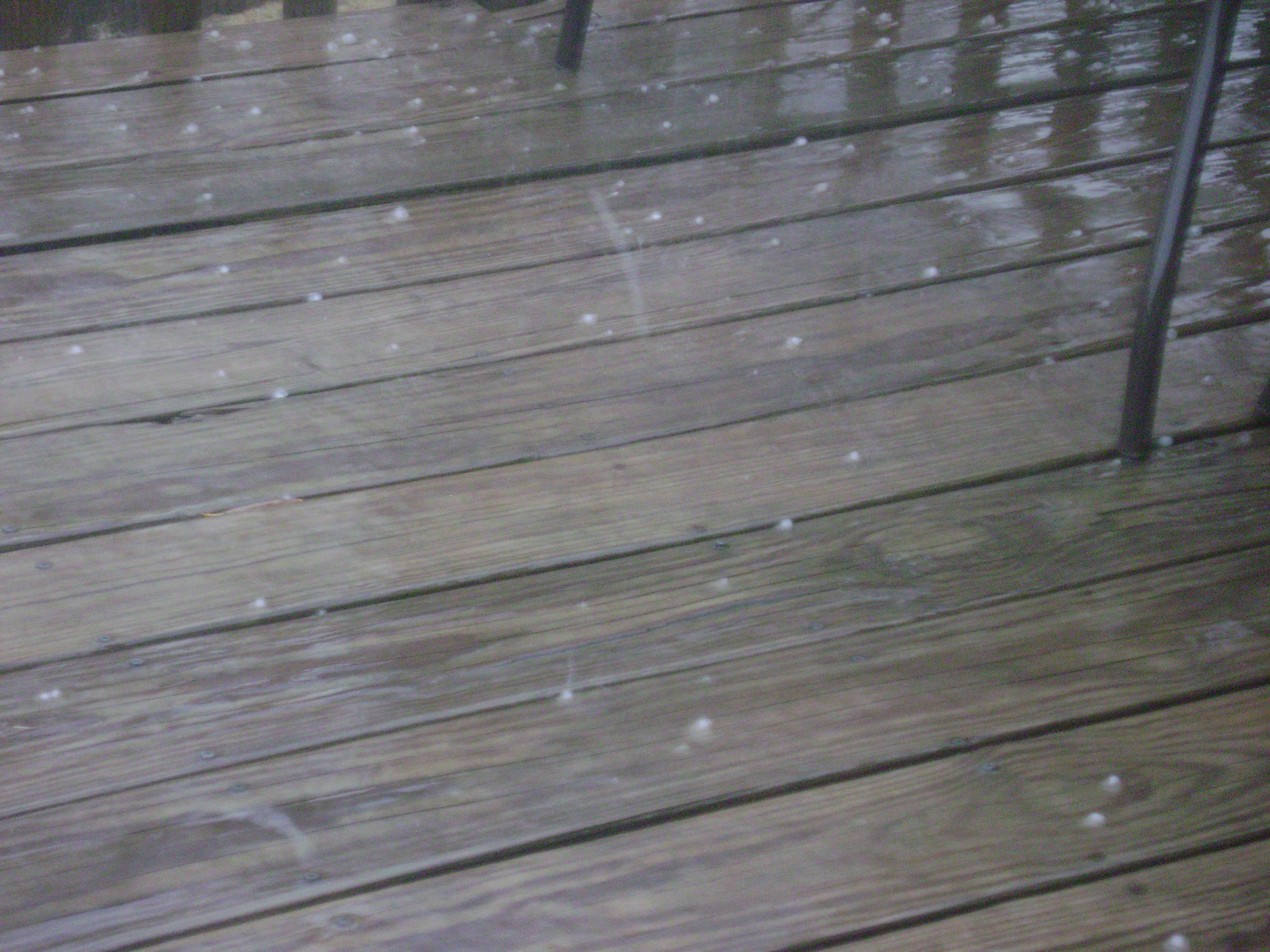 Hail in Johnson, AR