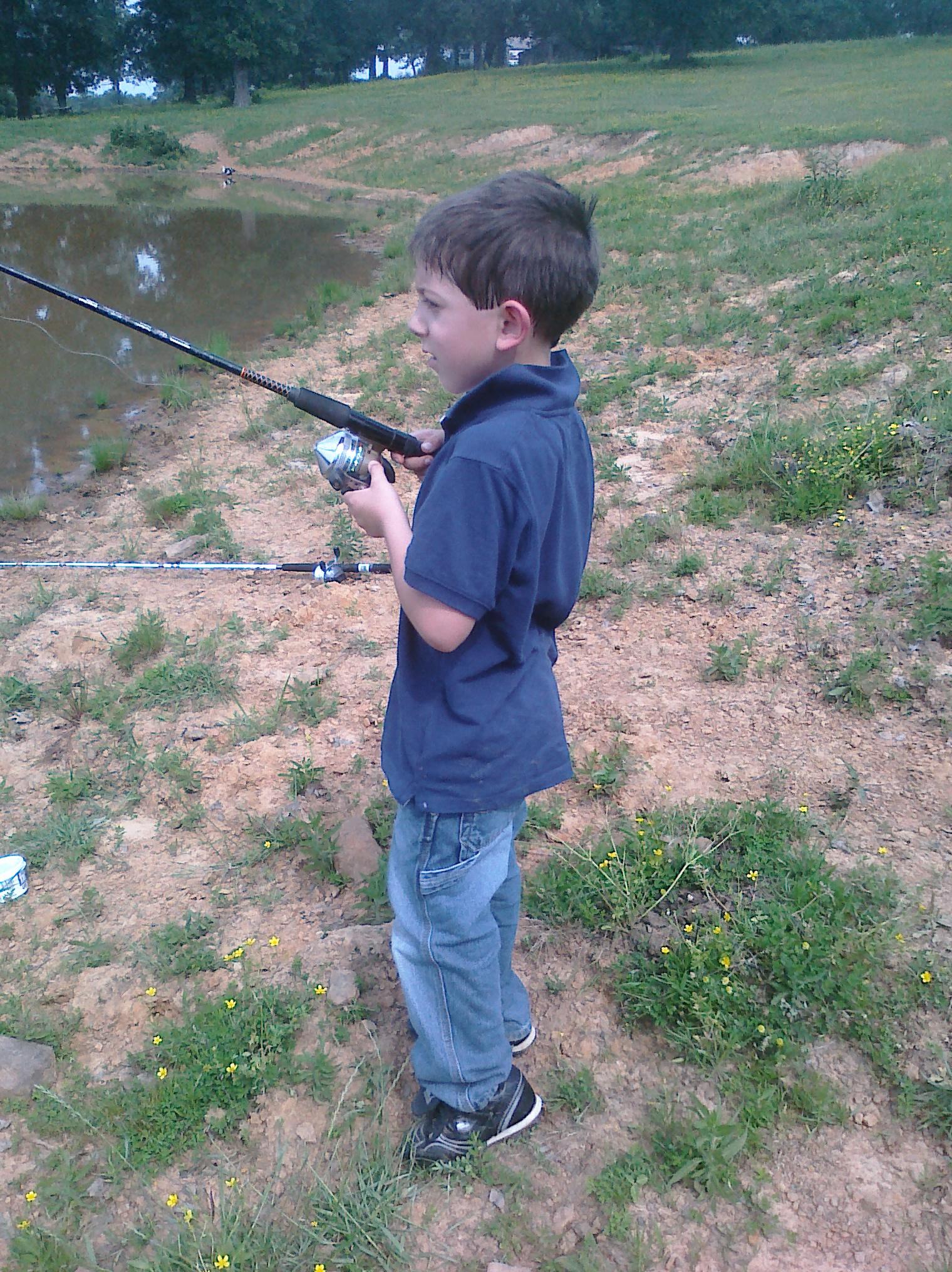 Gone fishing! - Nita Jenkins