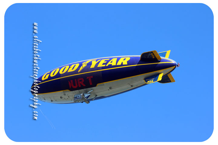 Good Year Blimp - Elisabeth Watson