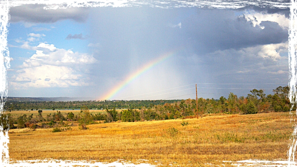 Rainbow off Hwy 23 near Logan/Franklin County line.