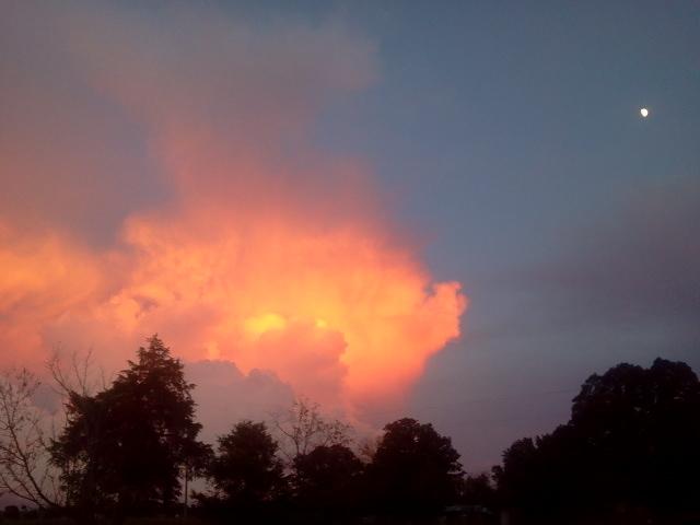 sunset wister ok 8-26-2012