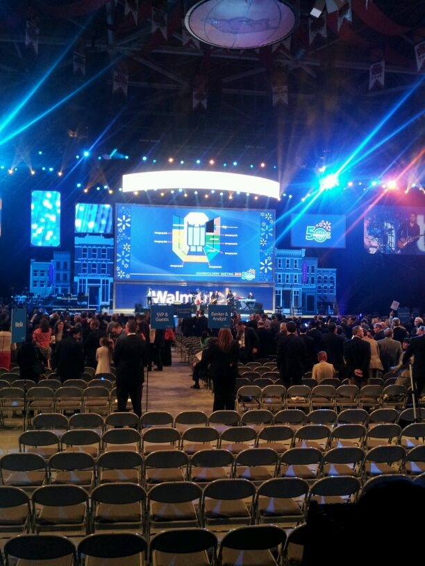 The 50th Anniversary Walmart Shareholders' Meeting.