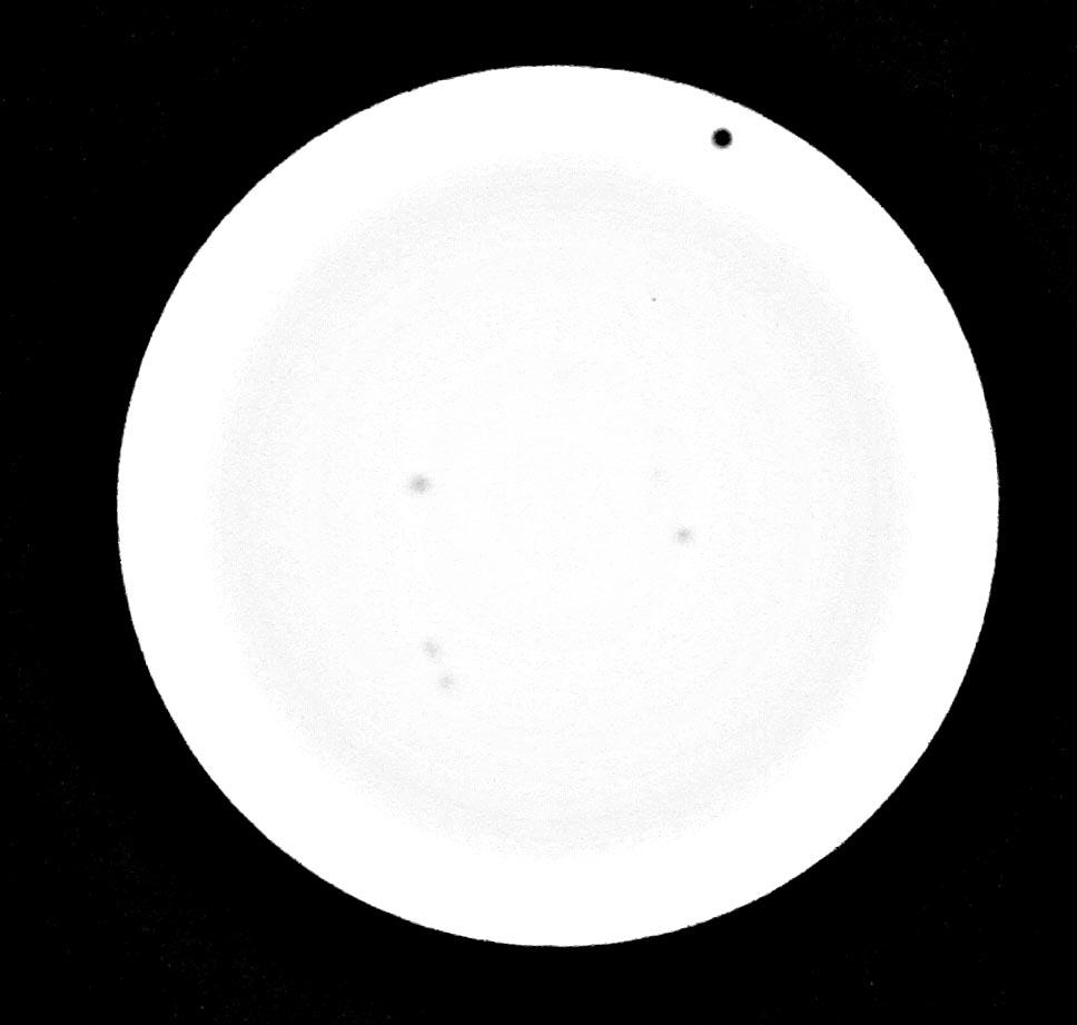 Venus Transit, Holloway Comet Observatory - Mike Holloway