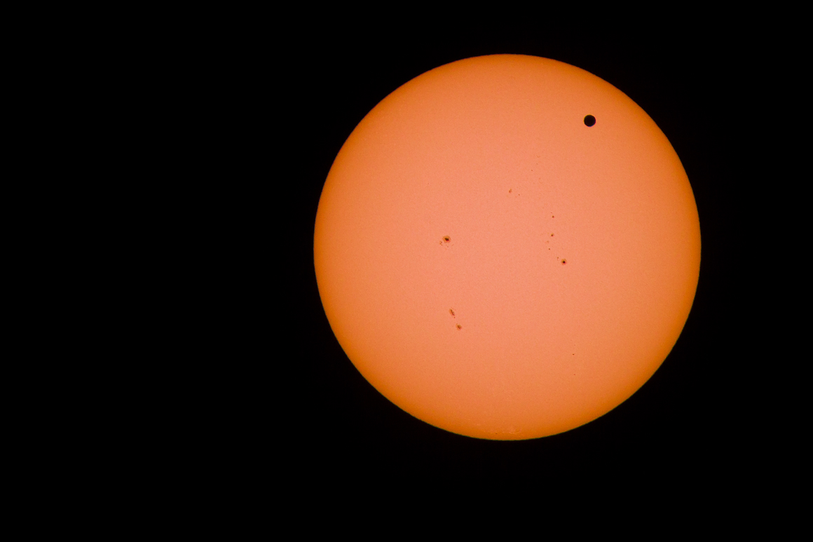 Venus Transit, Moffett Bottoms - John Cross