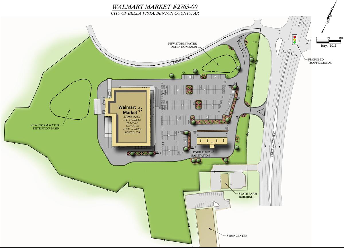 Walmart Calls Meeting With Bella Vista Council Fort Smith