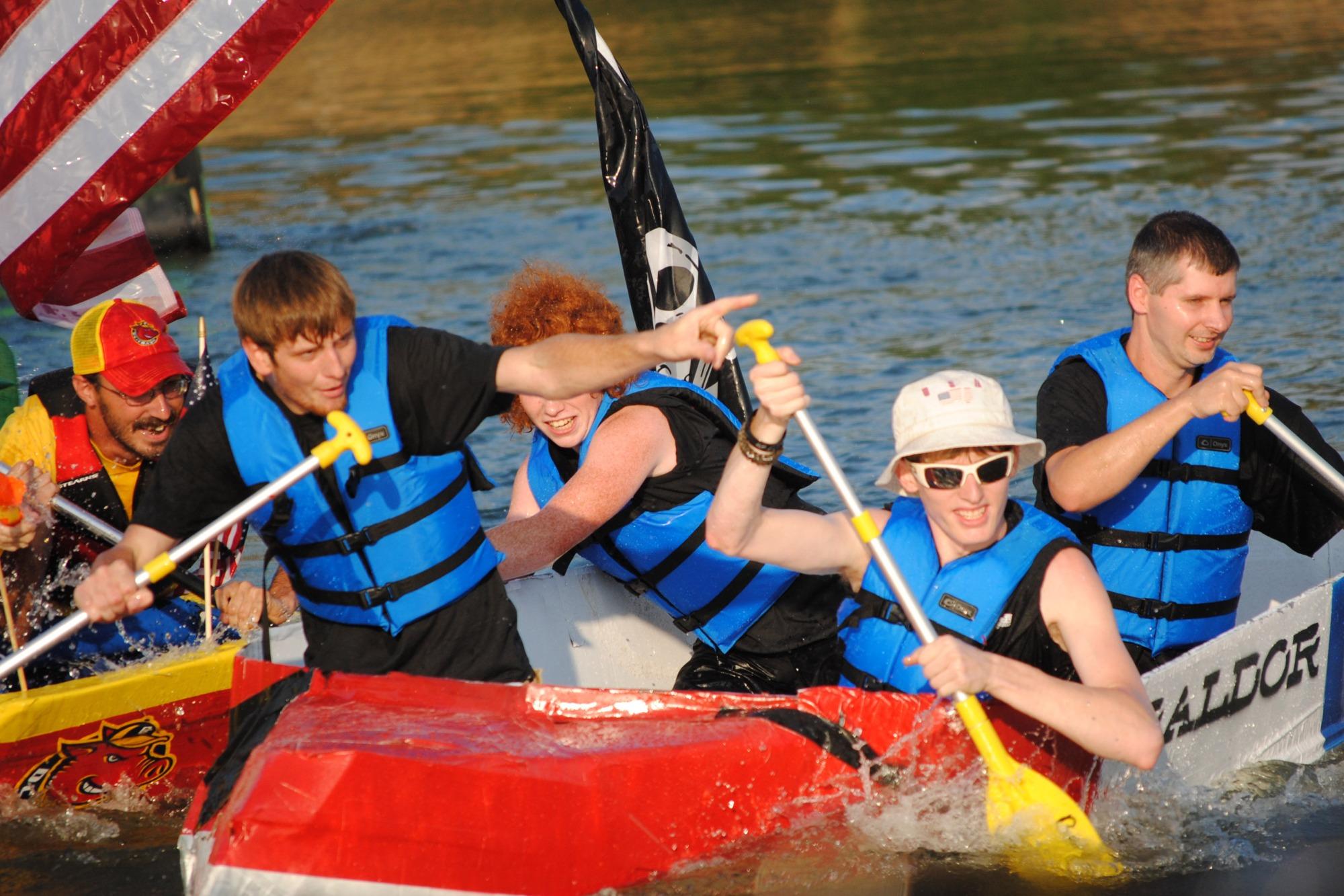 Ozark Cardboard Boat Races