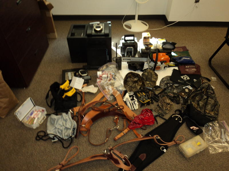 Stolen items recovered