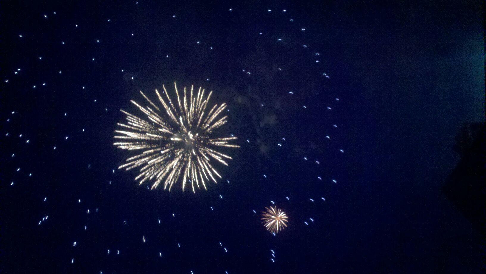 Fireworks - Patricia Dewberry
