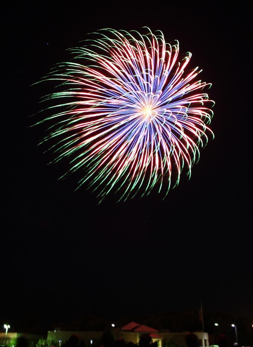 Greenwood Fireworks - Cody Hampton