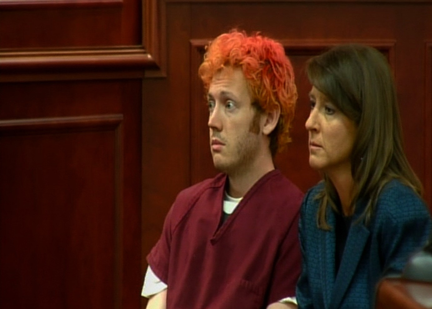 James Holmes appears in court