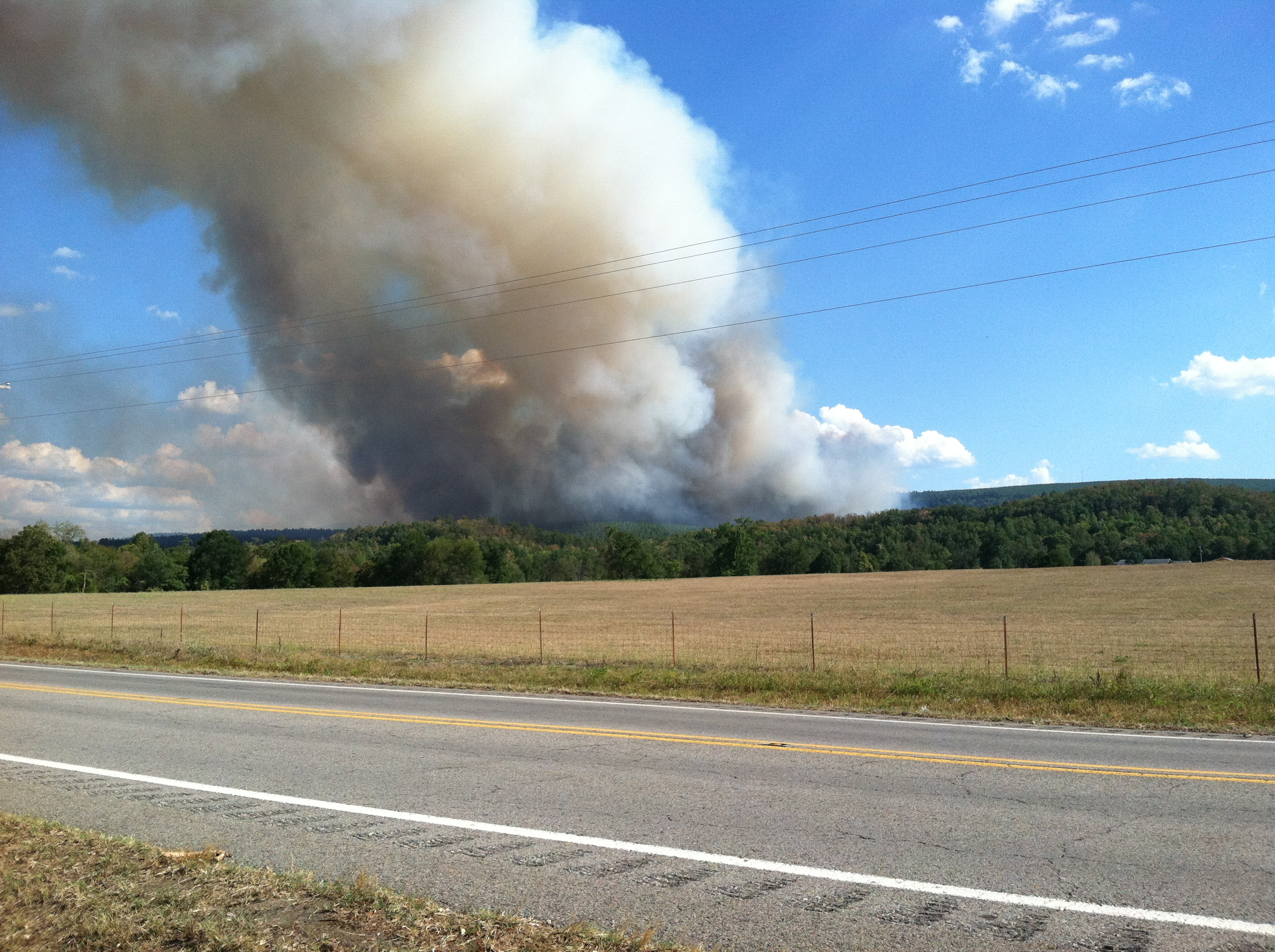 Ola Fire - Courtesy Mallory Cooke