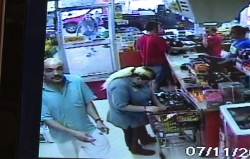 Male suspect in debit card theft, bottom left hand corner