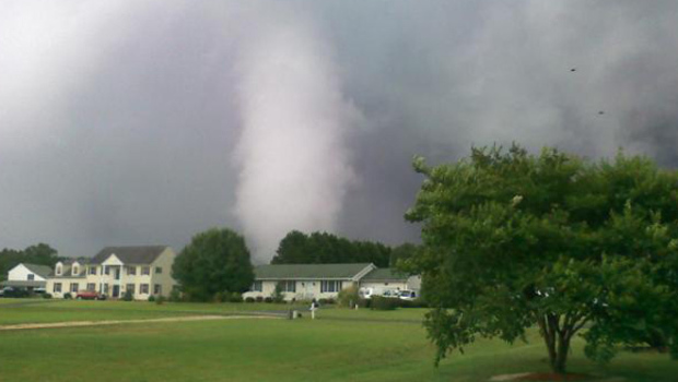 Tornado Touches Down On Virginia S Eastern Shore Fort