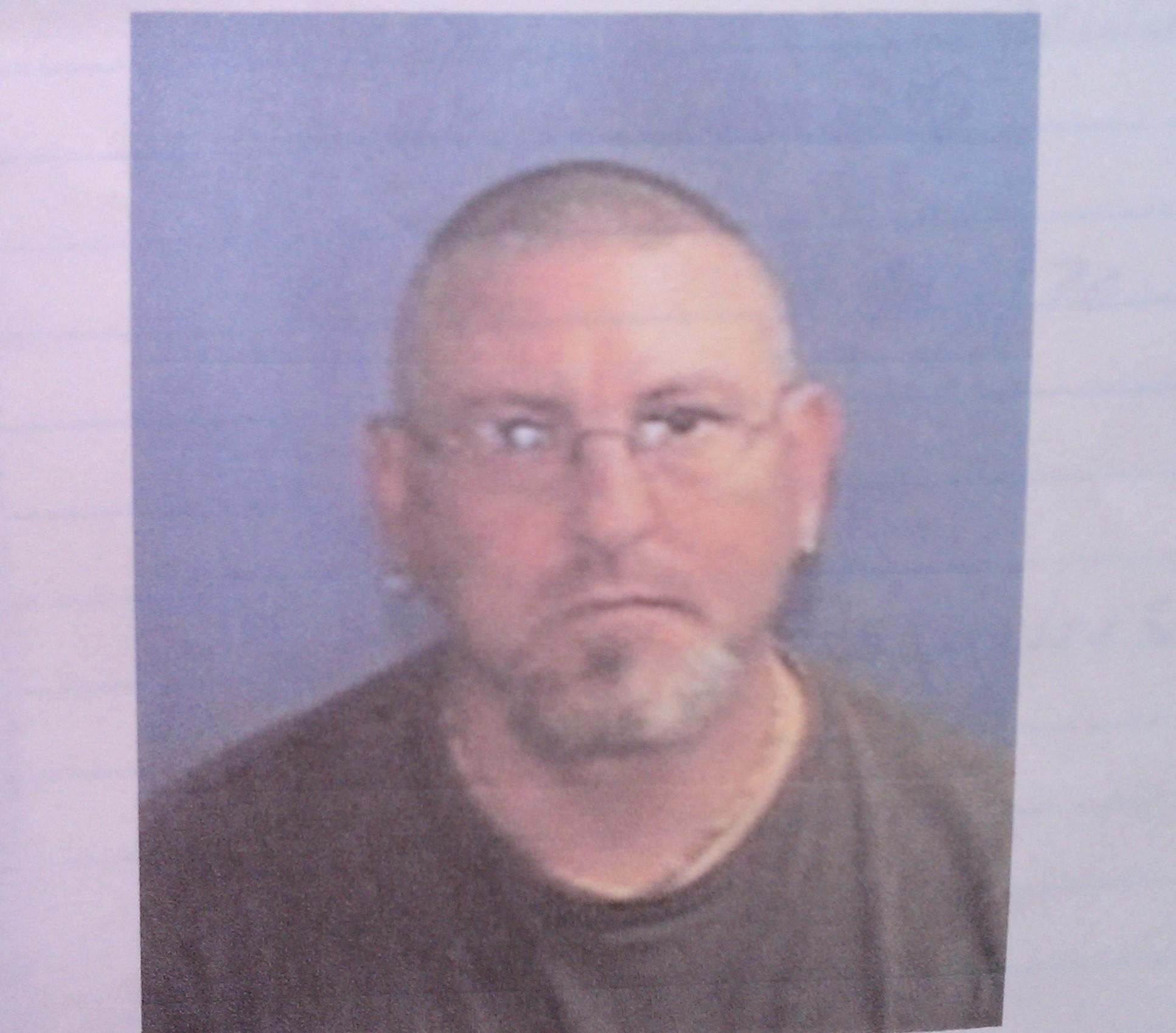 Deputies say David Johnson currently does not have facial hair