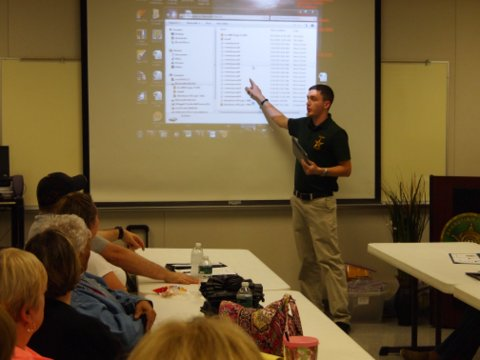 Kyle Dart discusses the sheriff's office communication system