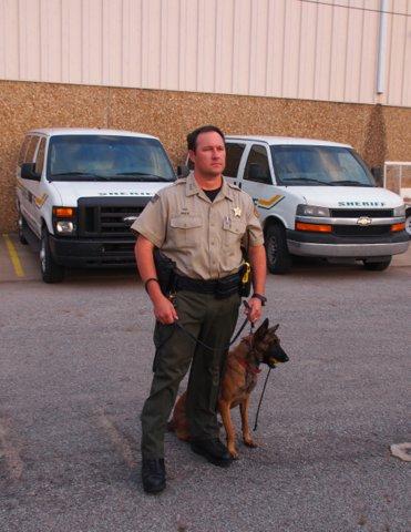Deputy Randy White and Asi