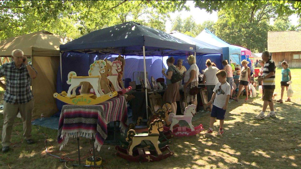 61st clothesline fair at prairie grove battlefield fort for Craft fair fayetteville ar