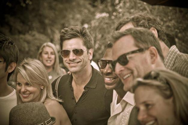 'Full House' Cast Reunites After 25 Years (Credit: John Stamos/Facebook)
