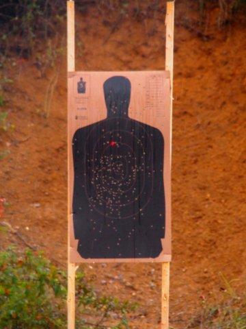 The Sheriff's gun range in Greenwood