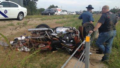 One Injured In Motorcycle Wreck On I-540 In Springdale