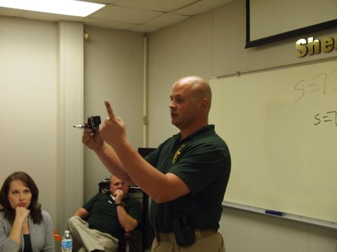 Sgt. John Miller discusses Taser use