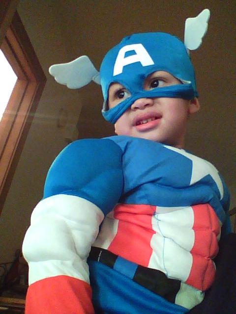 Nevan is Captain America!
