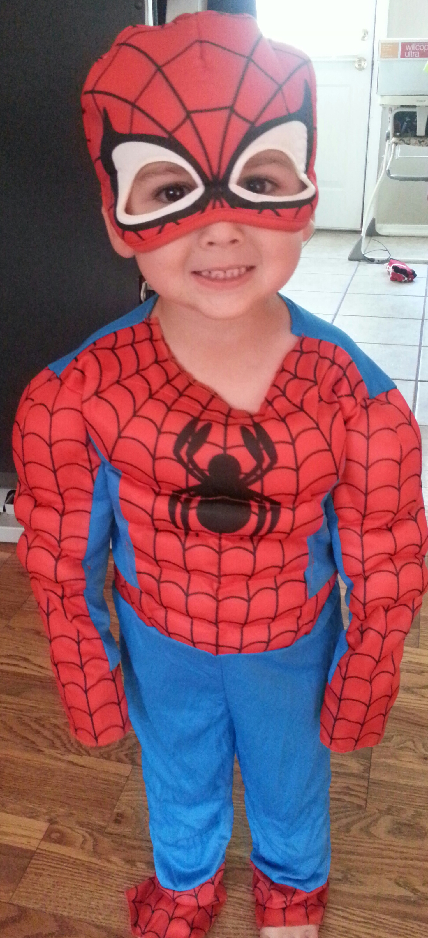 cutest Spiderman ever!