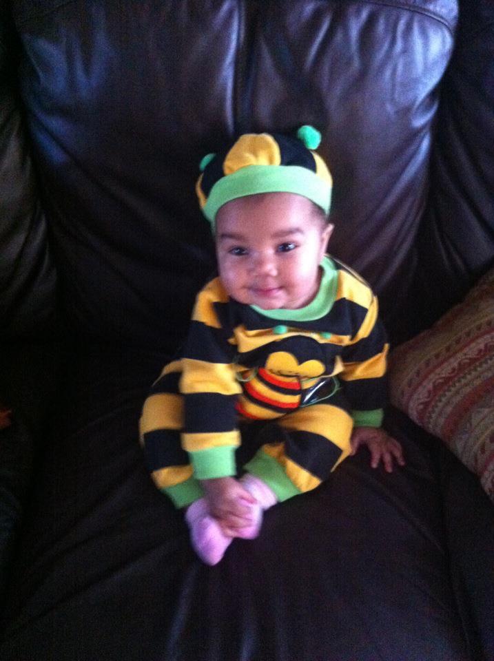 My little granddaughter