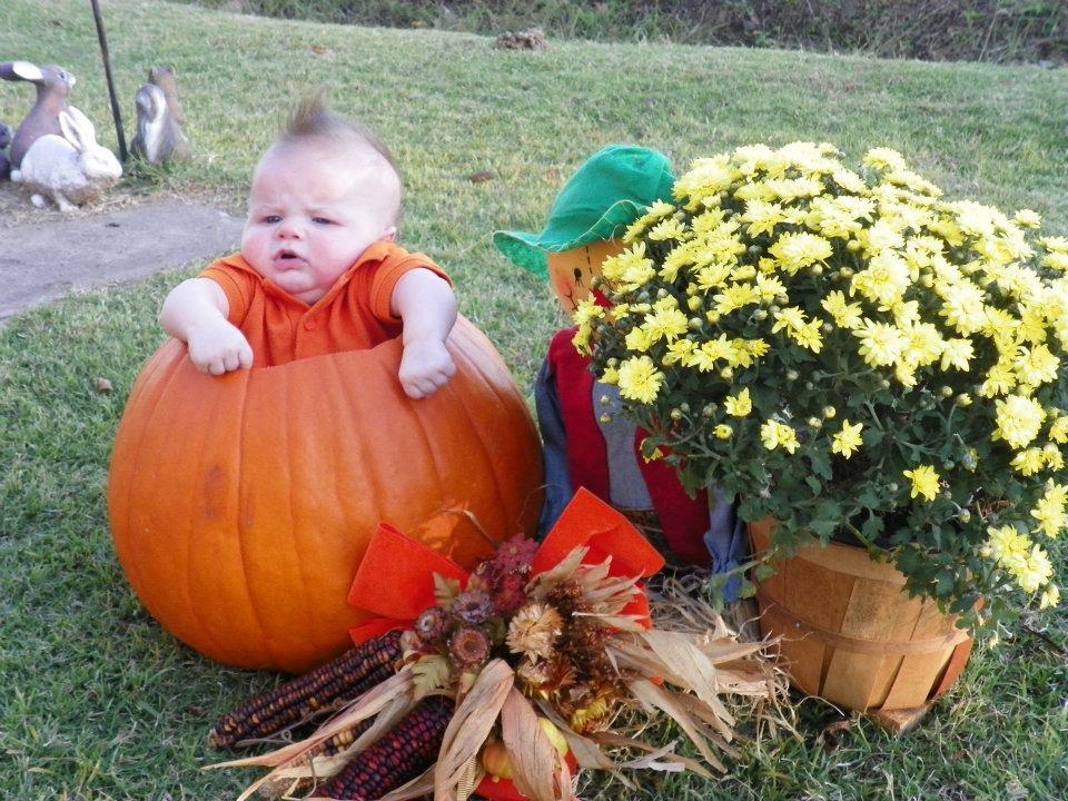 baby MAC\'S 1st halloween
