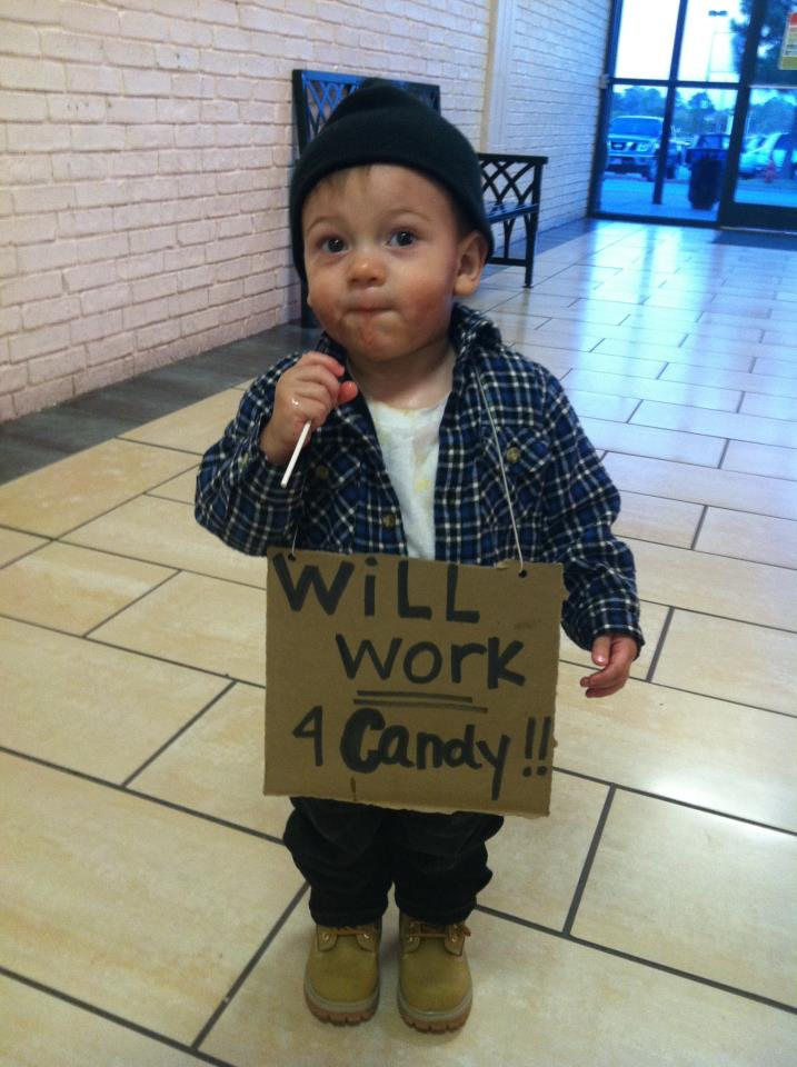 Will work for Candy!!