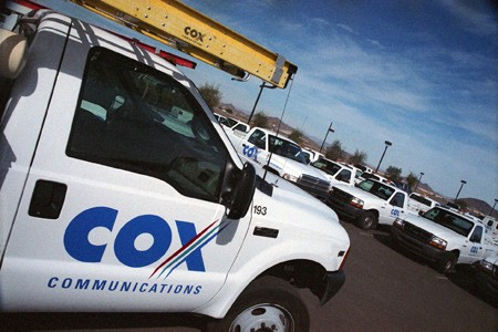 cox truck phone outages